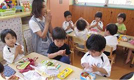 2歳児クラス(あんずぐみ)