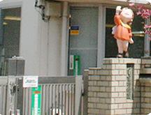つしま幼稚園の正門セキュリティ